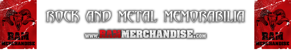 Rock and Heavy Metal Memorabilia Ram Merchandise