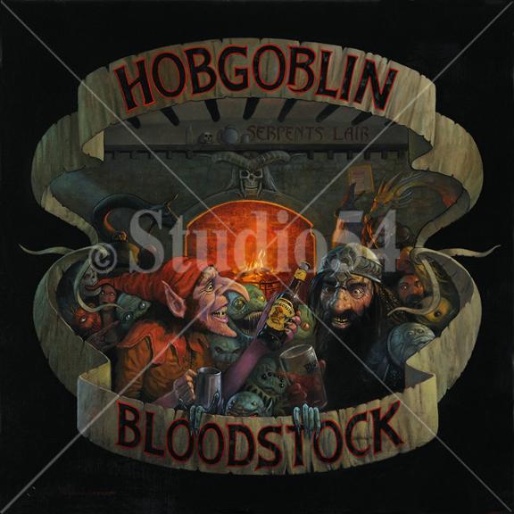 HOBGOBLIN & BLOODSTOCK t-shirt