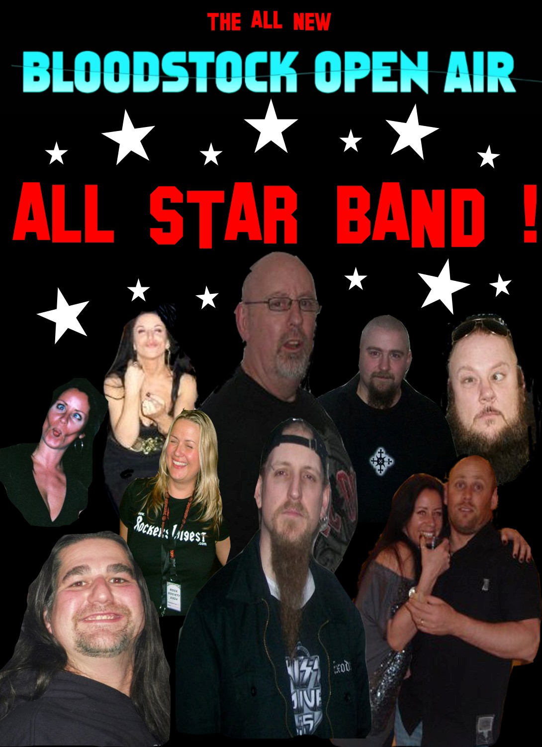 BLOODSTOCK ALL STAR BAND!